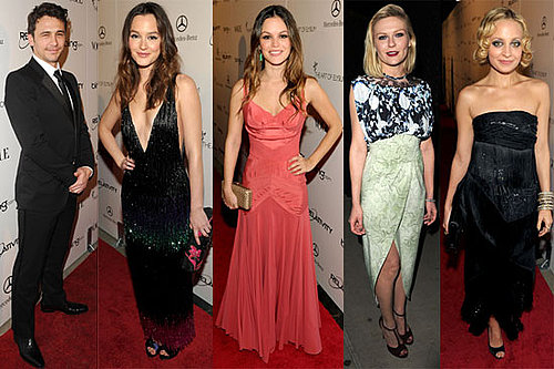 Pictures of James Franco, Kirsten Dunst, Nicole Richie, Leighton Meester, and Rachel Bilson at the 2011 Art of Elysium Heaven Ga