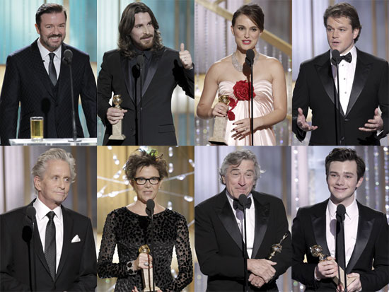 Highlights from the 2011 Golden Globes Show 2011-01-16 21:55:22