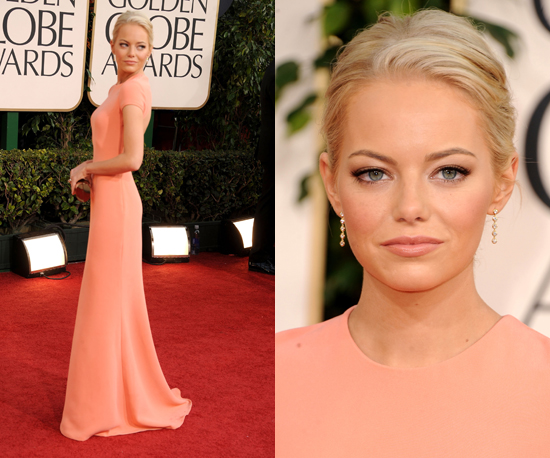 Emma Stone at 2011 Golden Globe Awards