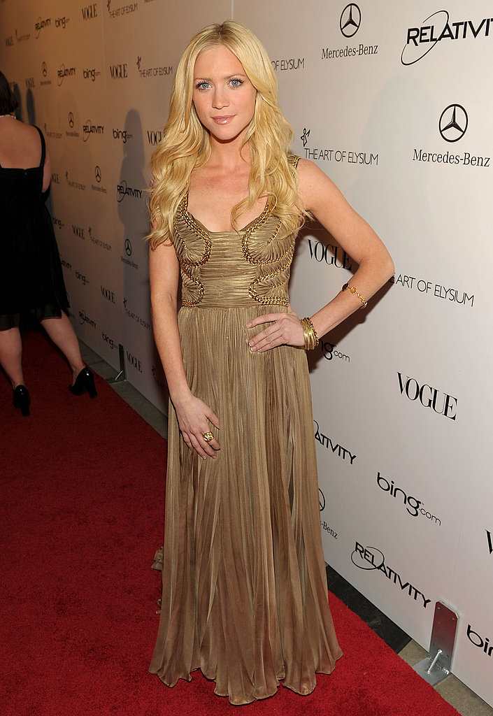 Brittany Snow hit gold.