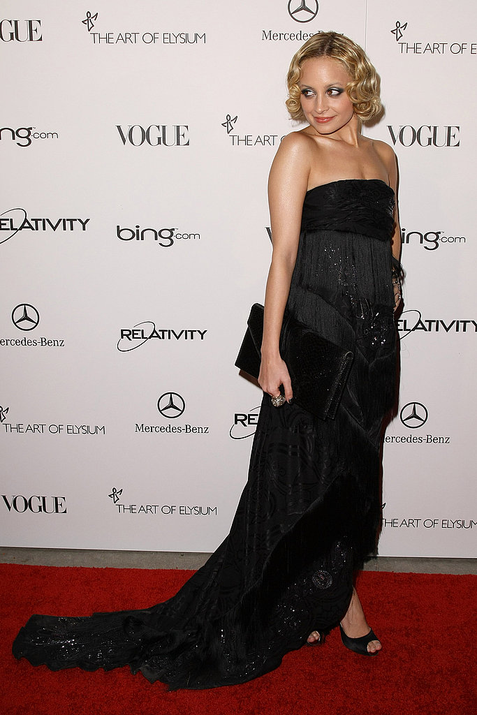 Nicole Richie in a '20s-inspired look.