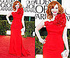Christina Hendricks at 2011 Golden Globe Awards
