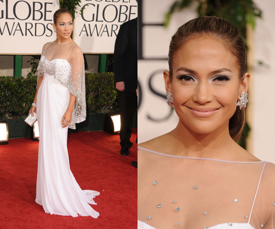 Jennifer Lopez at 2011 Golden Globe Awards