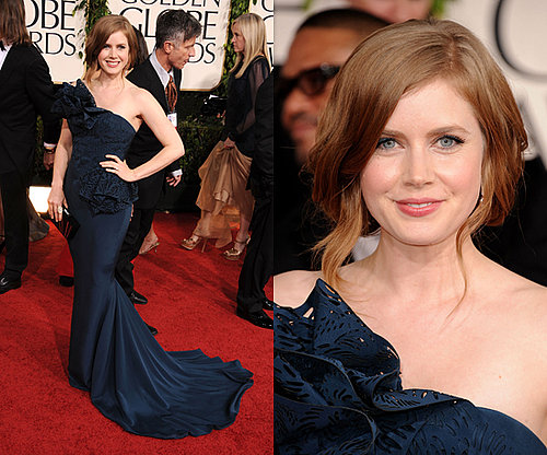Amy Adams Navy number from the 2011 Golden Globe Awards