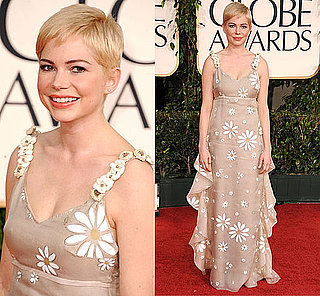 Michelle Williams at 2011 Golden Globe Awards