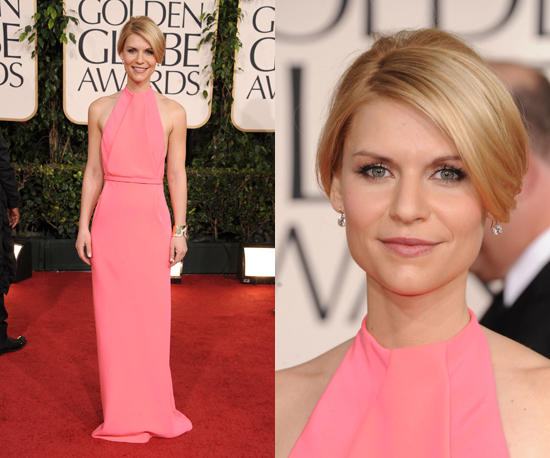 Claire Danes at 2011 Golden Globe Awards