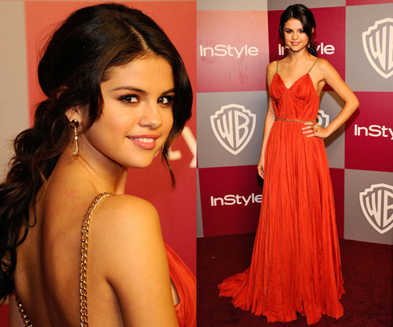 Selena Gomez at 2011 Golden Globe Awards