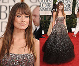 Olivia Wilde at 2011 Golden Globe Awards