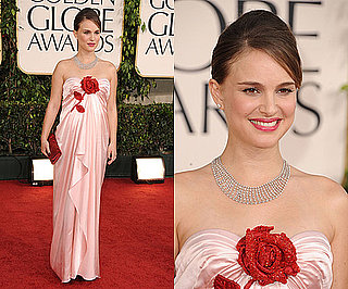 Natalie Portman at 2011 Golden Globe Awards