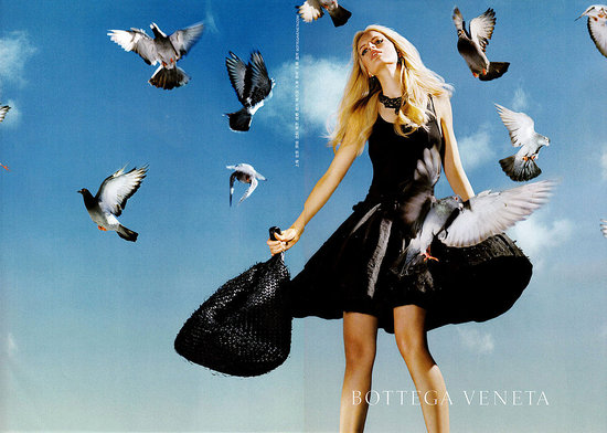 Karolina Kurkova for Bottega Veneta, by Alex Prager