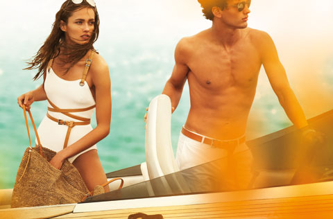 Karmen Pedaru, Simon Nessman for Michael Kors, by Mario Testino