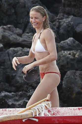 Pictures of Cameron Diaz in a Bikini in Hawaii With Shirtless Alex Rodriguez