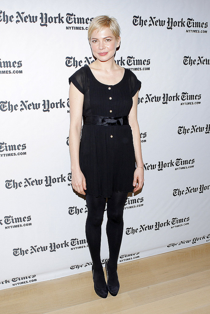 Pictures of Michelle Williams at New York Times Event, and With Friend in NYC