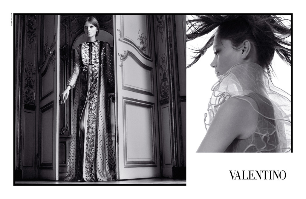 Caroline Brasch Nielsen for Valentino, by David Sims