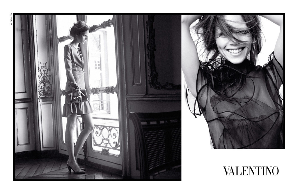 Freja Beha Erichsen for Valentino, by David Sims