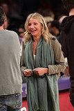 Cameron Diaz Brings Her Hawaiian Tan Courtside With Chace Crawford