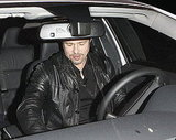 Pictures of Brad Pitt After Dinner in Santa Monica