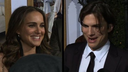 Video of Pregnant Natalie Portman and Ashton Kutcher at the No Strings Attached Premiere in LA