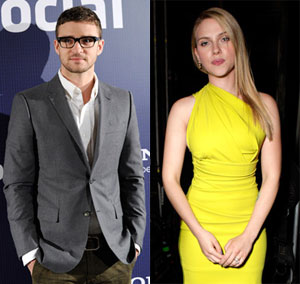 Could You See Scarlett Rebounding With Old Flame Justin?