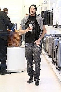 Pictures of Adrien Brody Shopping in LA