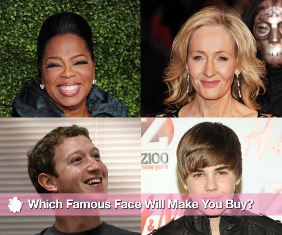 Which Famous Face Will Make You Buy?