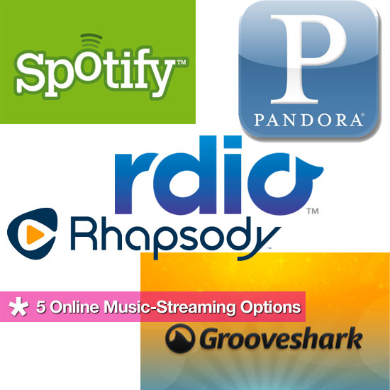 5 Online Music-Streaming Options