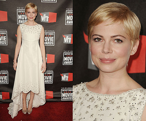 Michelle Williams at 2011 Critics' Choice Awards
