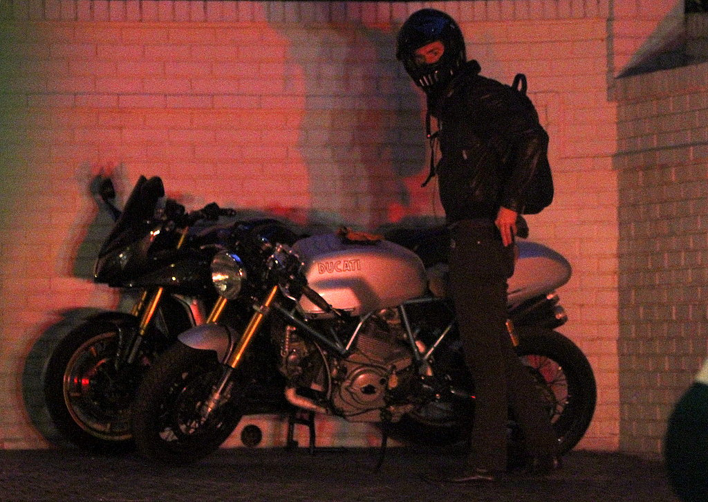 Ryan Reynolds Speeds Away Following a Late Night Out in LA
