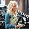 Pictures of Nicole Richie Arriving at an Appointment in LA Wearing a Floral Dress