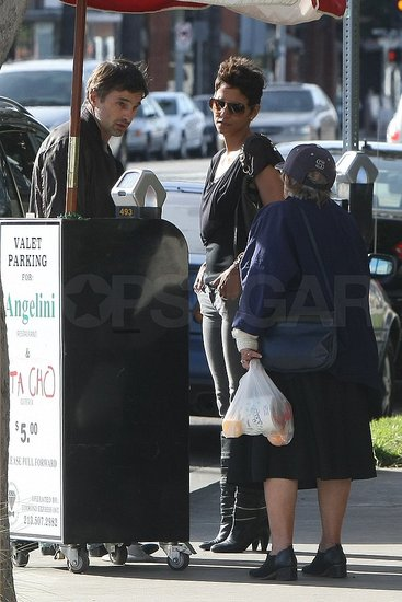 Pictures of Halle Berry and Olivier Martinez Together in LA