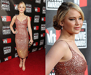 Jennifer Lawrence at 2011 Critics' Choice Awards