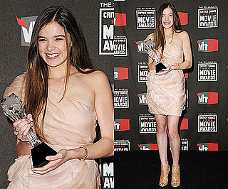 Hailee Steinfeld at 2011 Critics' Choice Awards