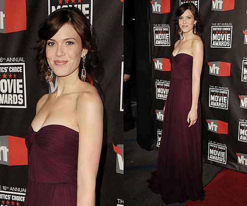 Mandy Moore at 2011 Critics' Choice Awards