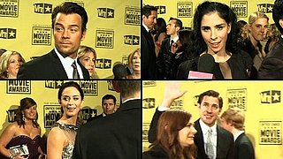Video From the 2010 Critics' Choice Awards Red Carpet