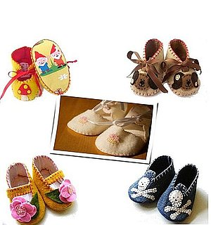 Handmade Baby Booties For Newborns