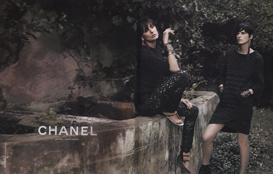 Ines de la Fressange, Stella Tennant for Chanel, by Karl Lagerfeld