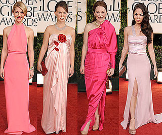 Pink Dresses at 2011 Golden Globe Awards