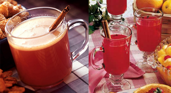 Hot Cranberry Drinks