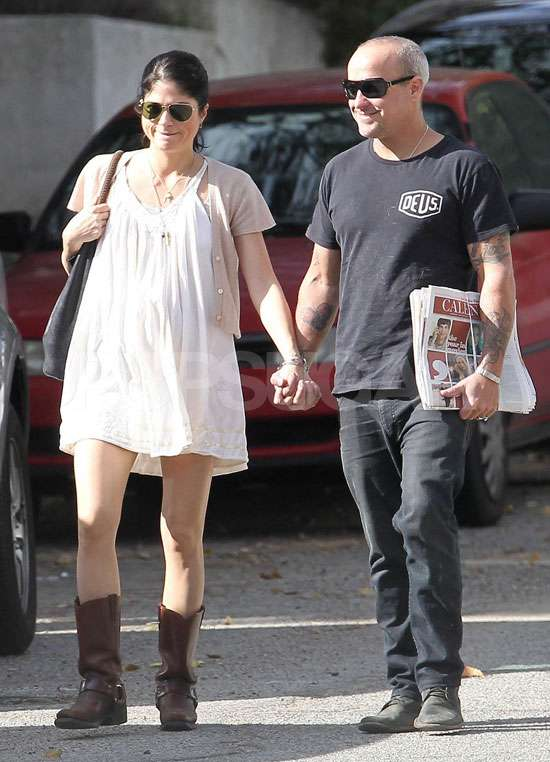 Pictures of Pregnant Selma Blair With Her Baby Bump and Boyfriend Jason Bleick