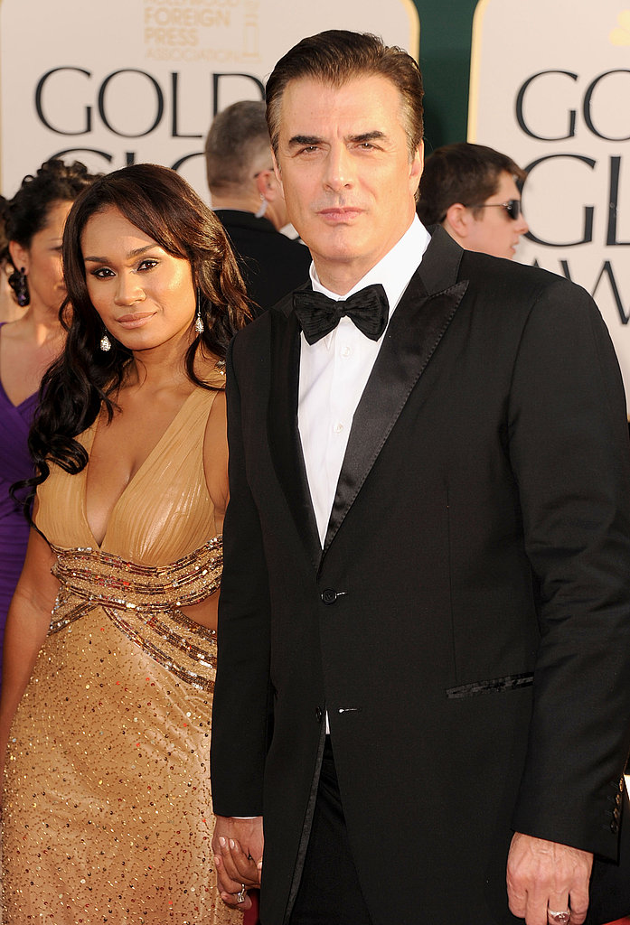 Tara Wilson and Chris Noth