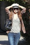 Olivia Wilde Soaks Up the Sunshine Following a Golden Weekend