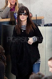 Pictures of Sandra Bullock Leaving LAX