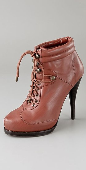 Steven Calah Lace Up Platform Booties ($161, originally $230)