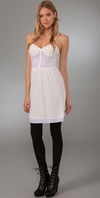 Twelfth St. by Cynthia Vincent Corset Slip Dress ($75, originally $248)