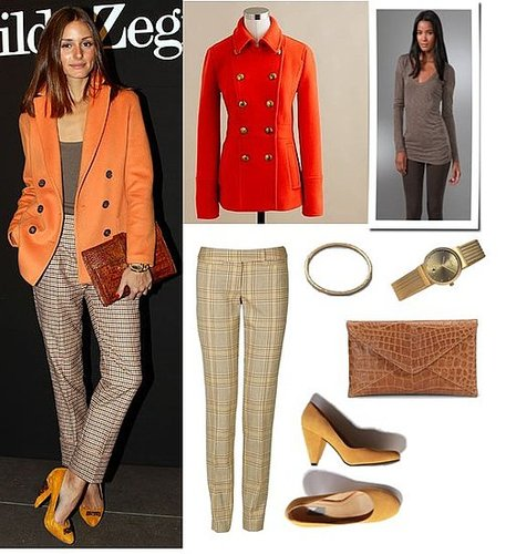 Pictures of Olivia Palermo at Milan Fashion Week Menswear Autumn/Winter
