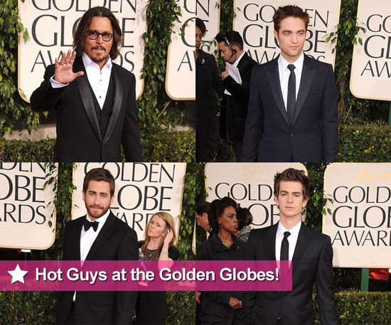 Hotness Runs Rampant For the Guys at the Golden Globes!