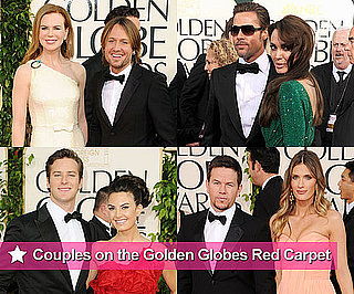 Famous Couples on Golden Globes Red Carpet With Angelina Jolie, Brad Pitt, Nicole Kidman, Keith Urban and More