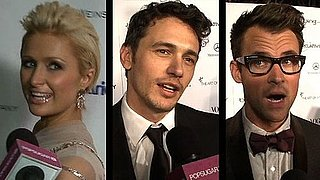 Video of James Franco, Paris Hilton, Kelly Osbourne Talking Award Season Favorites