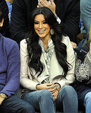 Kim Kardashian Puts Her Love For Basketball and Kris Humphries on Display