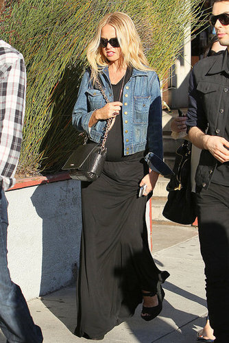 Pictures of Pregnant Rachel Zoe Shopping in LA With Joey Maalouf and Rodger Berman 2011-01-21 03:15:00